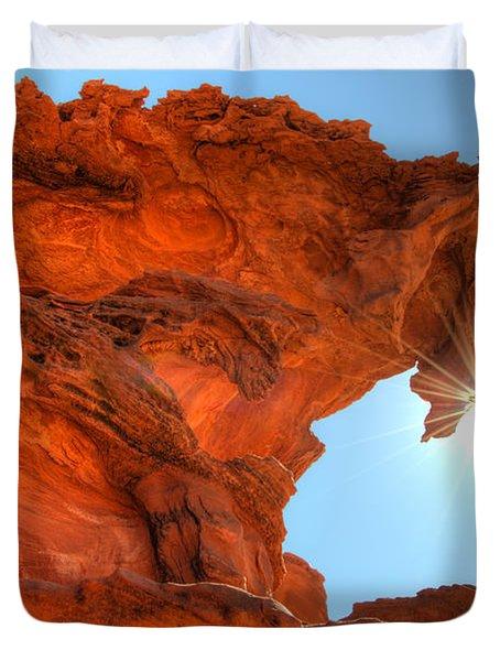 Dragons Breath Duvet Cover by Bob Christopher
