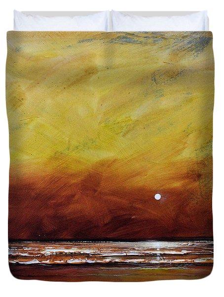 Drama Ocean Duvet Cover by Toni Grote