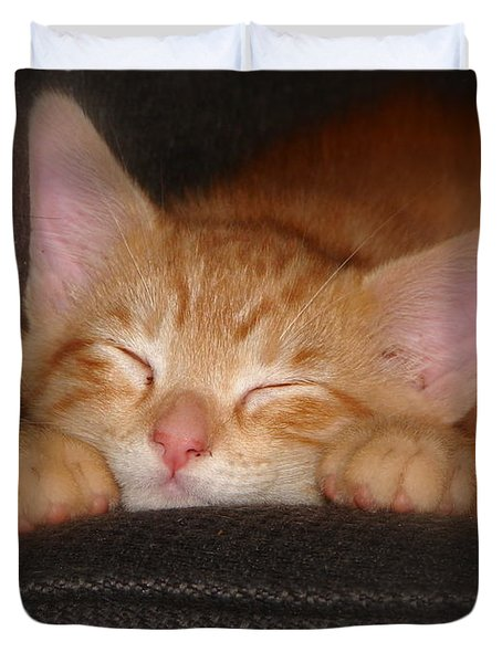 Dreaming Kitten Duvet Cover
