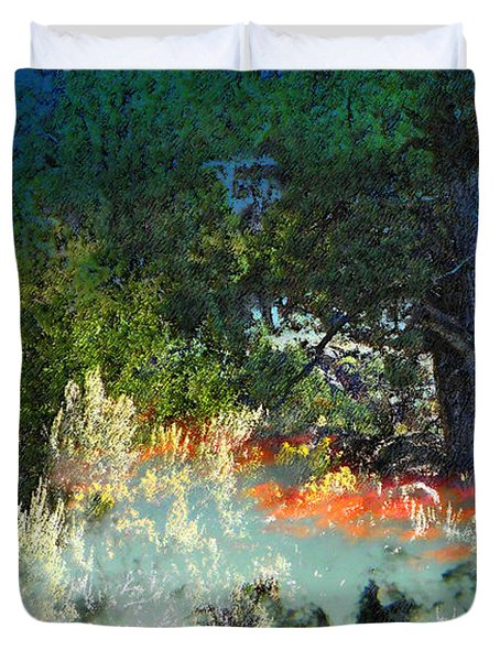 Dreaming Of Wyoming Duvet Cover by Lenore Senior and Dawn Senior-Trask