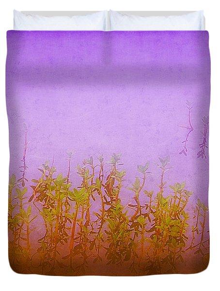 Dreams At Daybreak Duvet Cover by Judi Bagwell