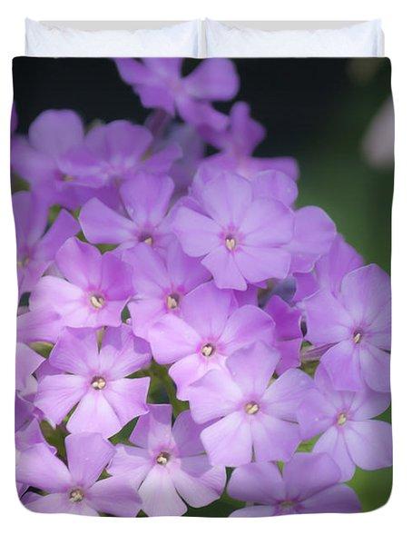 Dreamy Lavender Phlox Duvet Cover by Teresa Mucha
