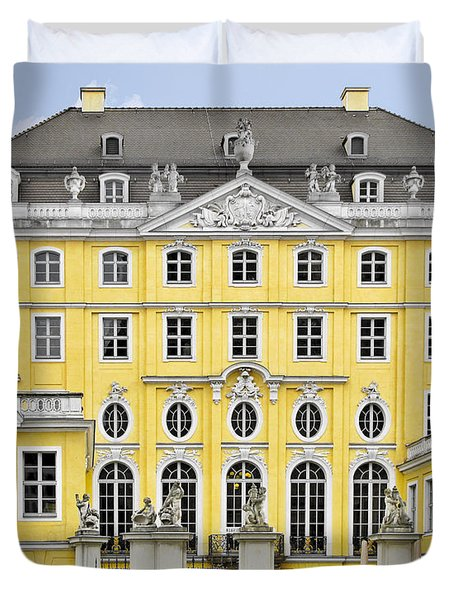 Dresden Taschenberg Palace - Celebrate Love While It Lasts Duvet Cover by Christine Till