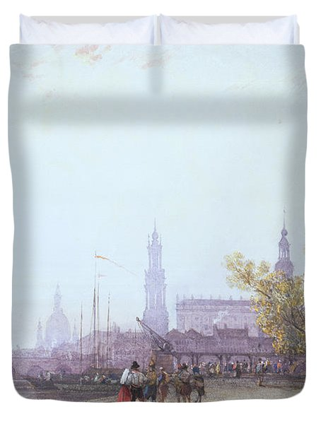 Dresden Duvet Cover by William Wyld