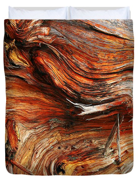 Drift Redwood Duvet Cover