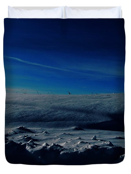 Drifts Of Time Duvet Cover by Jerry Cordeiro