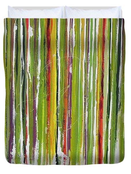 D.s. Color Band Duvet Cover