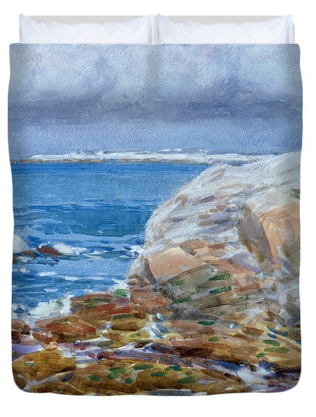 Duck Island Duvet Cover by Childe Hassam
