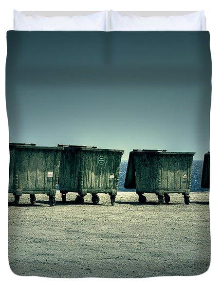 Dumpster Duvet Cover by Joana Kruse