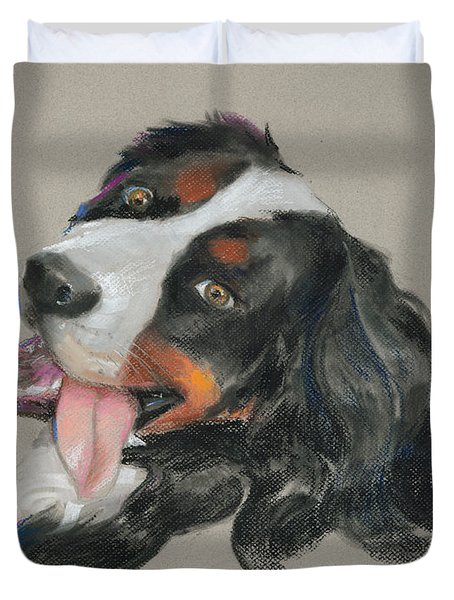 Duncan Duvet Cover by Mary Machare