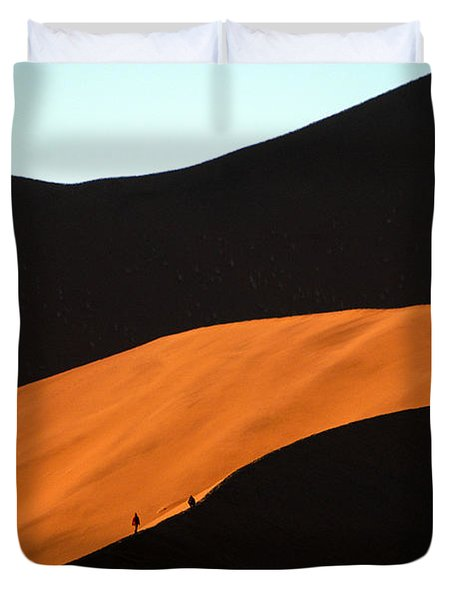 Dune Tunnel Duvet Cover