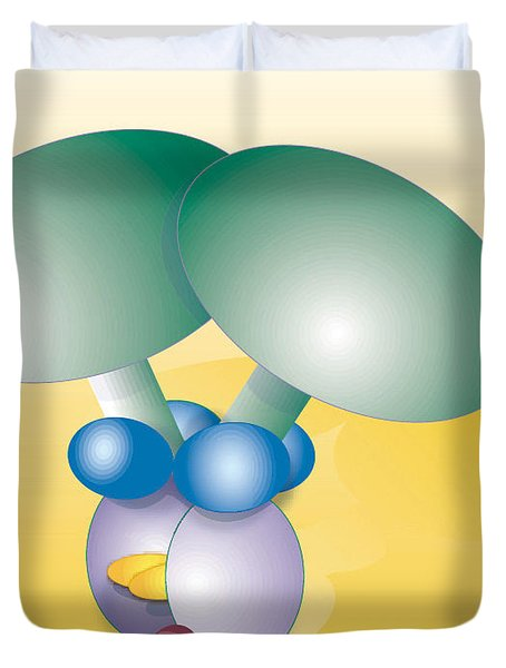 Dynein Complex Duvet Cover by Oak Ridge National Laboratory