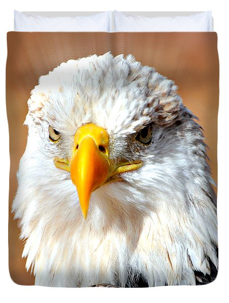 Eagle 21 Duvet Cover by Marty Koch