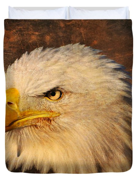 Eagle 47 Duvet Cover by Marty Koch