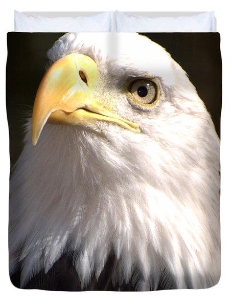 Eagle Eye Duvet Cover by Marty Koch