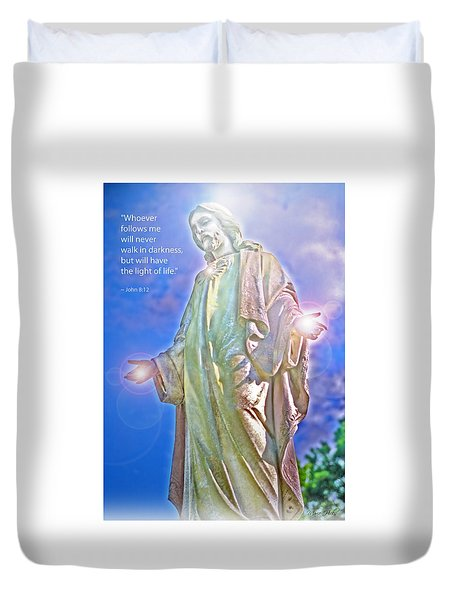 Easter Miracle Duvet Cover by Marie Hicks