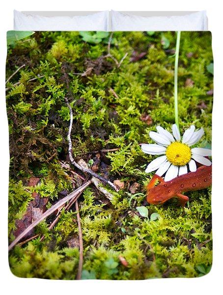 Eastern Newt Juvenile 3 Duvet Cover