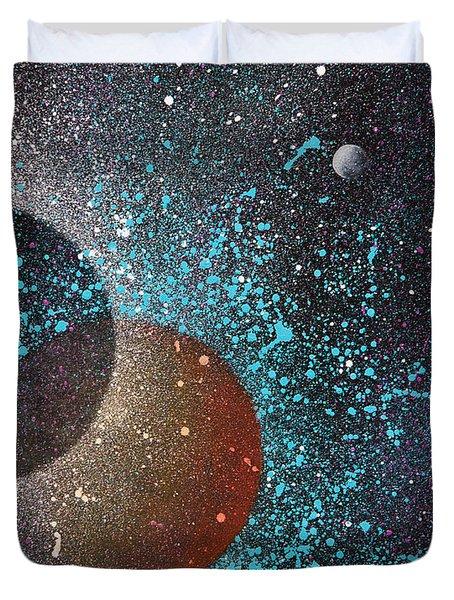 Eclipse Duvet Cover by Reina Cottier