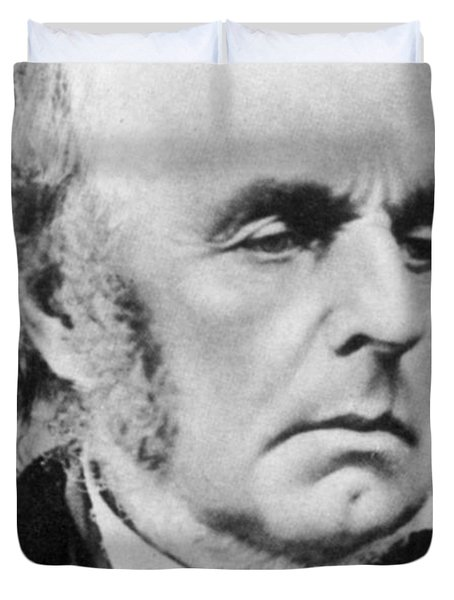 Edward Fitzgerald Duvet Cover by Science Source