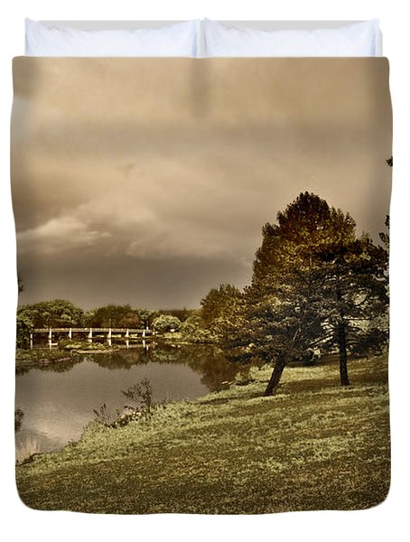 Eery Day Duvet Cover
