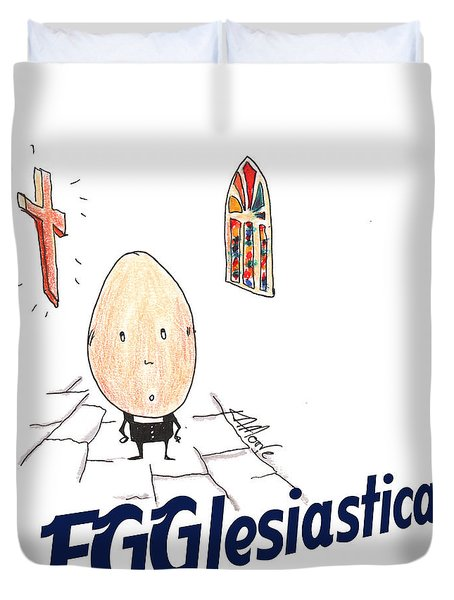 Egglesiastical Duvet Cover