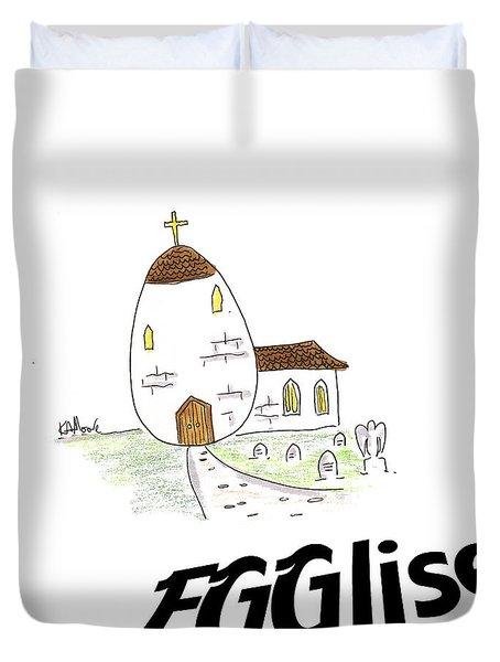 Egglise Duvet Cover