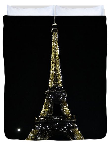 Eiffel Tower - Paris Duvet Cover