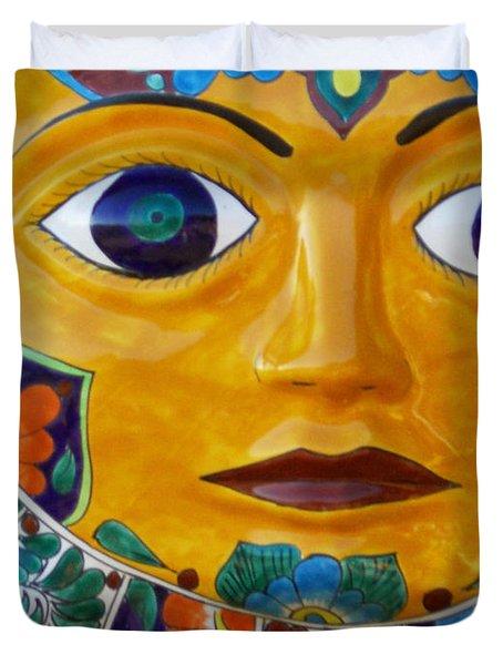 El Sol Duvet Cover
