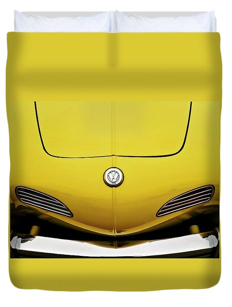 Electric Karmann Duvet Cover