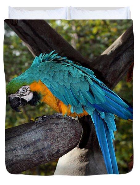 Elegant Parrot Duvet Cover