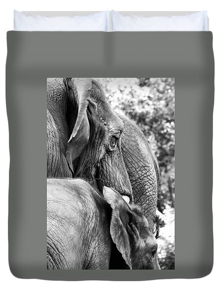 Elephant Ears Duvet Cover