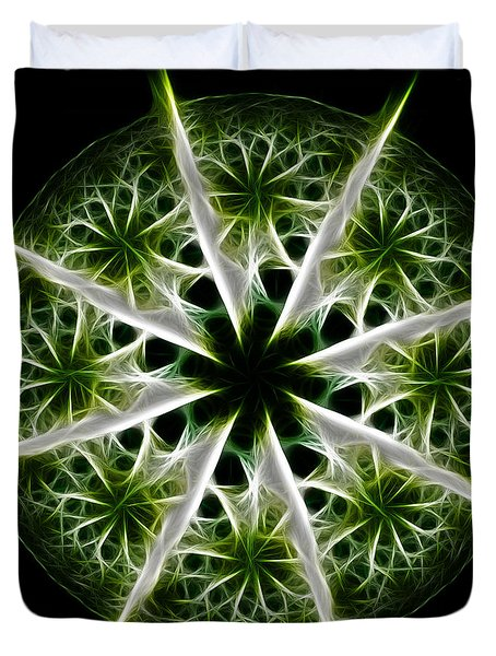Emerald Tales Duvet Cover