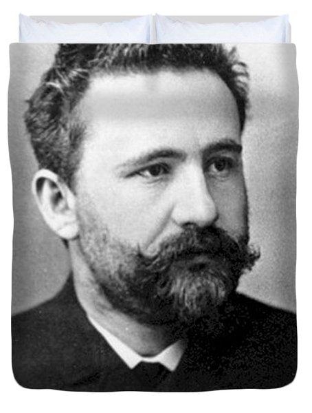 Emil Kraepelin, German Psychiatrist Duvet Cover by Science Source