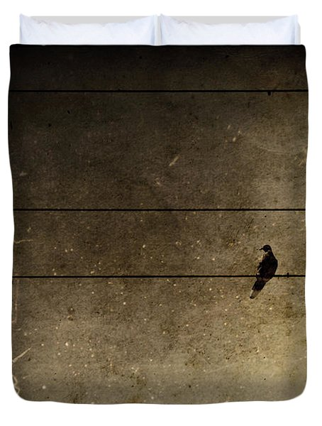 Emotional Distance Duvet Cover by Andrew Paranavitana