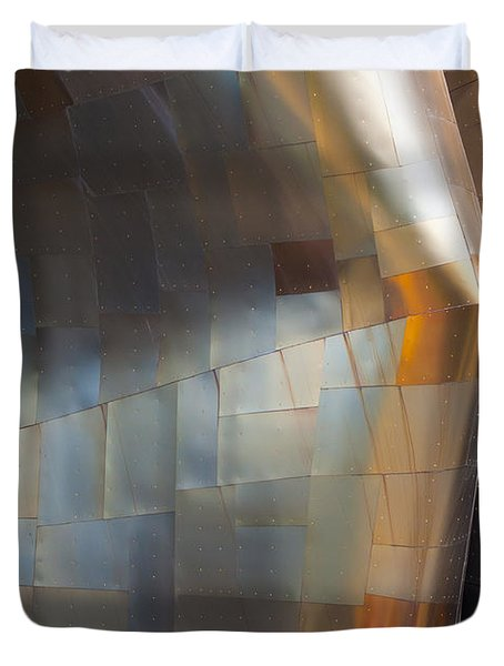 Emp Abstract Fold Duvet Cover