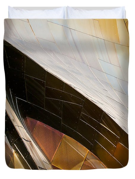 Emp Curves Duvet Cover by Chris Dutton