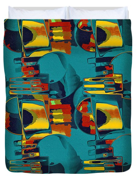 En Formes 02 Duvet Cover by Aimelle