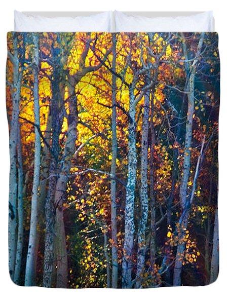 Enchanted Aspen Duvet Cover