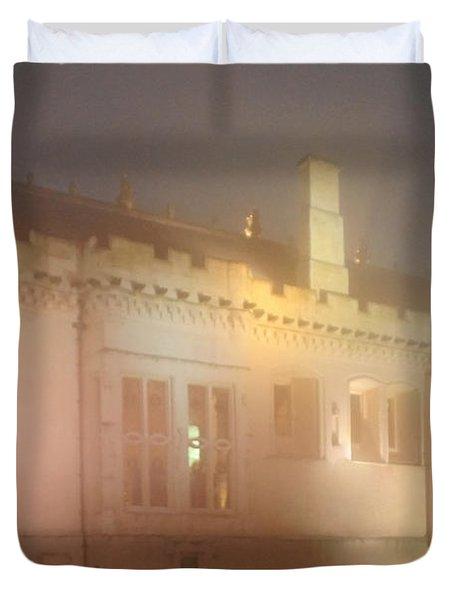 Enchanted Stirling Castle Scotland  Duvet Cover by Christine Till