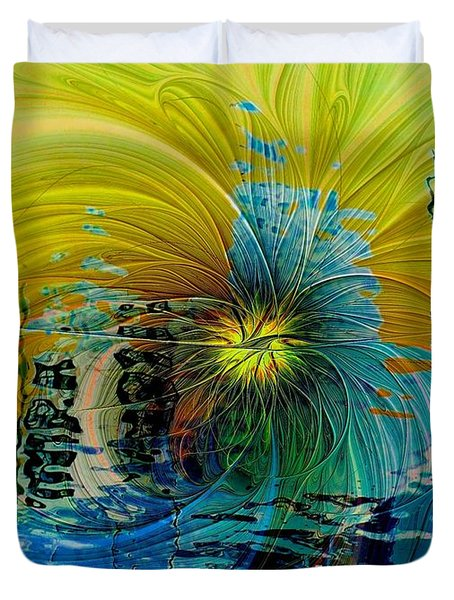 End Of Days Duvet Cover by Amanda Moore