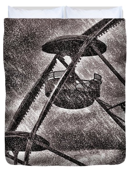 End Of The Season Duvet Cover by Bob Orsillo
