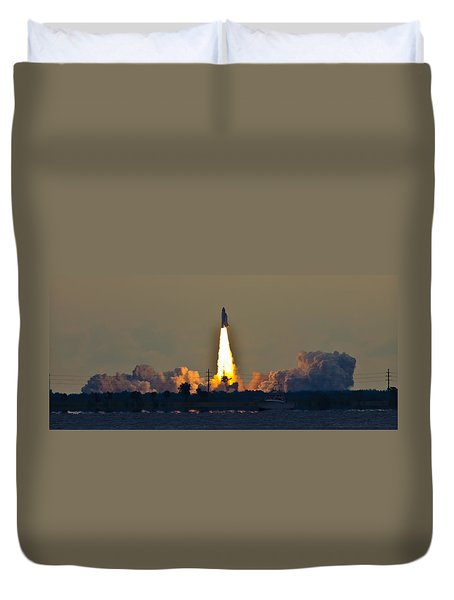 Endeavor Blast Off Duvet Cover