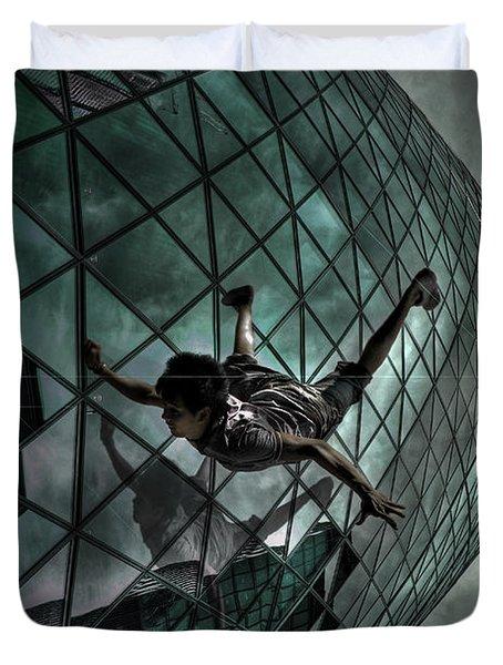 Endless Waltz Duvet Cover by Yhun Suarez