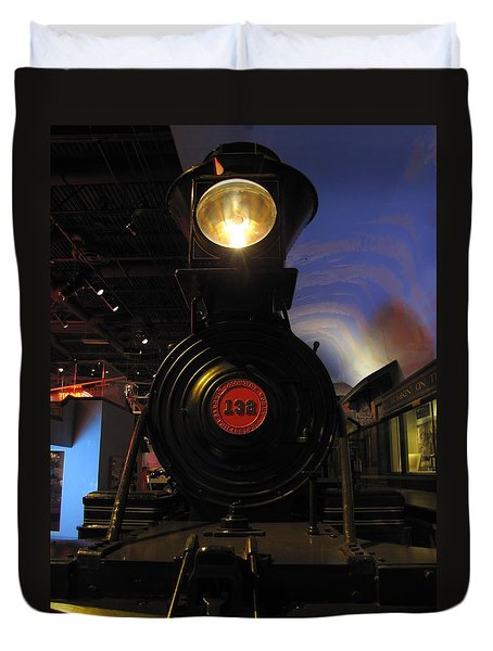 Engine No. 132 Duvet Cover
