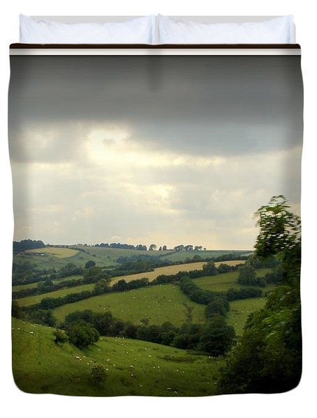 English Countryside Duvet Cover