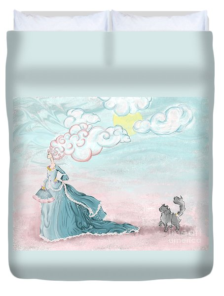 Enter Lady Spring Duvet Cover