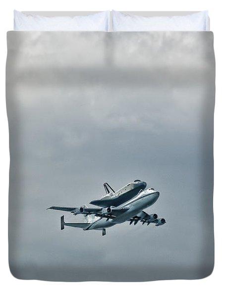 Enterprise 4 Duvet Cover by S Paul Sahm