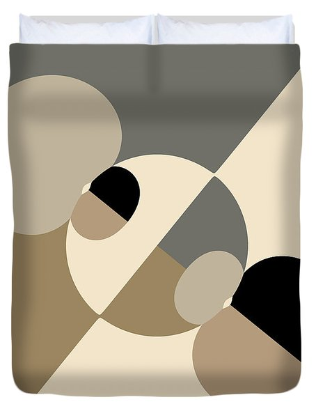 Equilibrium Duvet Cover by Mark Greenberg