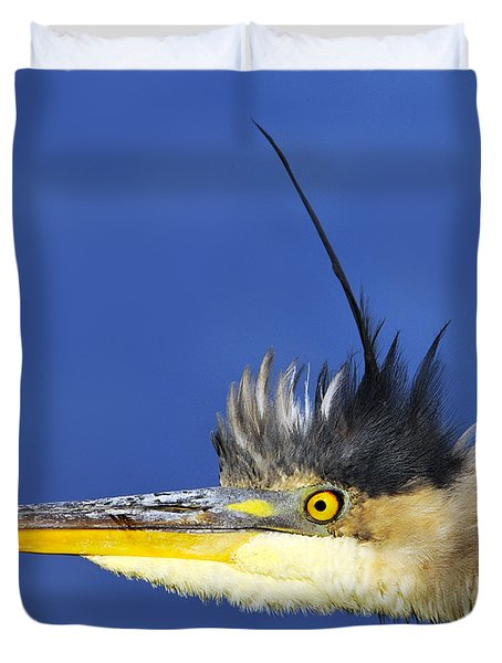 Erect Duvet Cover by Tony Beck
