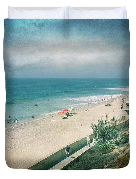 Escape For A Day Duvet Cover by Laurie Search